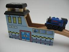 Estación de metro y para pista de Tren de Madera heliestación (Thomas) TS