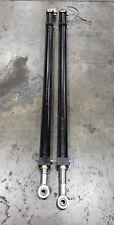 """Yates Cylinder 50"""" Stroke 2.5 Bore 1.75 Rod Pair of 2 U1W25 #1336Cg"""