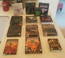 Doom + Quake PC Big Box / id Software Museum! Each complete + great condition!