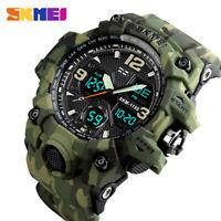 SKMEI Fashion Military Army Watch Men Sport Stopwatch LED Digital Wristwatches