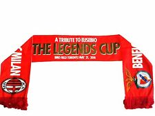 BENFICA vs AC MILAN SCARF THE LEGENDS CUP (Tribute to EUSEBIO) 2014 Collectible