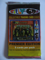 SILLY CDS~PREMIER EDITION 2001~FACTORY SEALED~MUSIC CARDS~ 5 CARDS PER 1 PACK