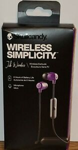 Skullcandy NOISE ISOLATING Jib Wireless Earbuds, Bluetooth Earphones - PURPLE