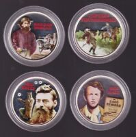 2003 AUSTRALIAN BUSHRANGER SILVER PROOF COIN SET Hall Kelly Morgan Thunderbolt
