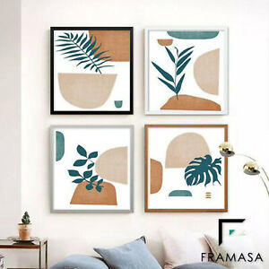 Square Size Thin Matt Picture Photo Frames Poster Frames Wood Effect ALL SIZES
