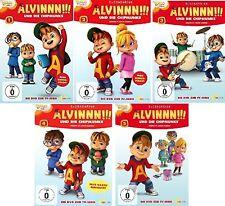 5 DVDs * ALVINNN !!! UND DIE CHIPMUNKS - TV-SERIE 1 - 5 IM SET ALVIN # NEU OVP &