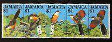 Timbre JAMAIQUE / Stamp JAIMAICA Yvert et Tellier n°563 à 567 n** (CYN17)