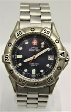 Swiss Military Navy Blue Dial 100m Diver Watch (Wenger)