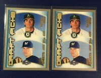 2000 Topps #451 BARRY ZITO & BEN SHEETS Rookie Lot 2 Prospects A's Brewers