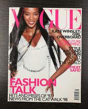 VOGUE Magazine January 1998, Naomi Campbell