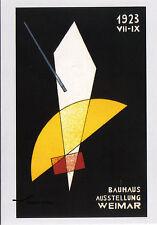 Kunst- Doppelkarte  - Bauhaus  Dessau - Làszlò Moholy-Nagy: Plakat