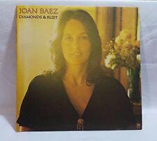JOAN BAEZ LP Diamonds and Rust 1975 A+M folk