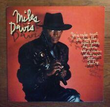 MILES DAVIS You're Under Arrest LP 1st Columbia Records NM fusion vinyl Scofield