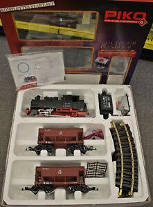 Piko Spur G 37100 Start-Set Güterzug BR 80 der DB aus Sammlung mit OVP