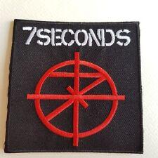 M398 // ECUSSON PATCH AUFNAHER TOPPA / 7SECONDS 9*9 CM
