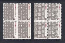 (MNHCN055) CHINA 2003 Ancient Calligraphy Seal Characters stamps block/4 set MNH
