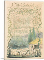 Songs of Innocence and of Experience - The Lamb Canvas Art Print William Blake