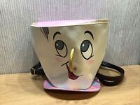 Disney Beauty And The Beast Chip Bag Cup Large Handbag Collectable Backpack