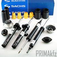 4x SACHS Stoßdämpfer + Staubschutzsatz Domlager BMW 3er E90 E91 E92 E93