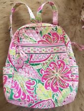 Vera bradley pinwheel backpack and walet new