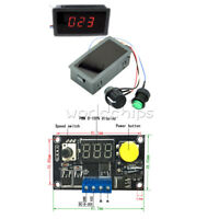 DC 6-30V MAX 8A MOTOR PWM SPEED CONTROLLER WITH DIGITAL LED DISPLAY & SWITCH