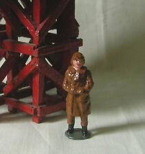 RAF Royal Air Force Pilot, model train or plane figure, Reproduction Johillco