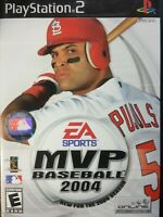 MVP Baseball 2004 (Sony PlayStation 2, 2004) PS2 Game 💎House