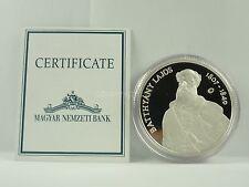 *** 5000 Forint Gedenkmünze UNGARN 2007 Lajos Batthyany PP mit Zertifikat Silber