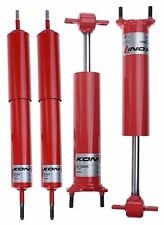 Ford Mustang KONI Adjustable Classic Shock Absorber Front & Rear 1969 1970 69 70