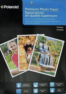 Polaroid Premium Photo Paper 8x Sheets