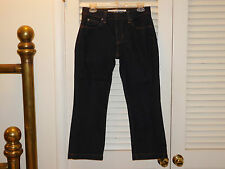 "GAP JEANS ""Capri's 6R Dark Blue Stretch  C"