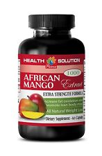 Apple Cider Vinegar - AFRICAN MANGO 1200 - Helps Fight Fatigue - 1B 60Ct