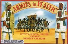 Armies in Plastic Egypt-Sudan 1881-1898 Ansars Dervish Warriors 1/32 Scale 54mm