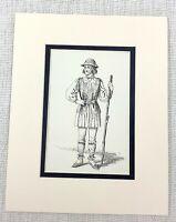 1889 Antico Stampa William Shakespeare Come You It Teatro Costume Play Abito