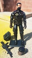 NEW G.I.JOE CUSTOM BLACK MAJOR COBRA NIGHT VIPER W/ ACCESSORIES 2.0.