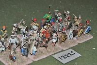 25mm classical / persian - ancient spearmen 27 figs - inf (12225)