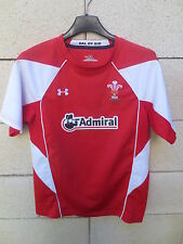 Maillot rugby PAYS DE GALLES 2011 WALES shirt UNDER ARMOUR rouge YLG XS