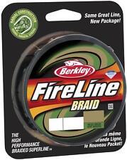 Tresse Berkley Fireline 0.18mm 17.9kg 110m moss green