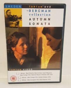 Autumn Sonata (1978) DVD Eng- Sub, Ingrid Bergman Liv Ullmann, UK R2 DVD