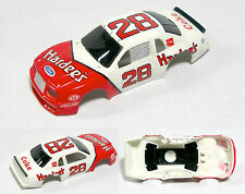 1986 TYCO Ford Thunderbird Stock Slot Car 28 Hardees BODY ONLY 8905 Unused A+