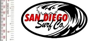 Vintage Surfing California San Diego Surf Co San Diego, CA Promp Patch