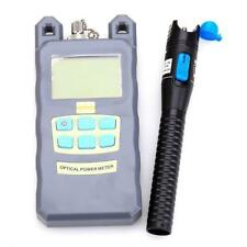 New Fiber Optical Power Meter and 1mW 3-5Km Visual Fault Locator Cable Tester