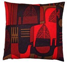 Pillow with Marimekko TALVITARINA fabric Mid-Century Modern design