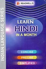 Learn Hindi in a Month,Ishwar Datt