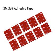 10x 3M VHB Self Adhesive Sticker Pads Flat For Viofo A119S A119 V2 Car Dash Cam
