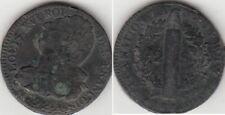 Monnaie Française 2 sols Constitution 1792.A.