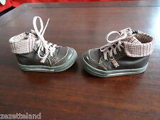 Chaussures Baskets à lacets et zip bordeaux taille 21 KOKIN OCCASION