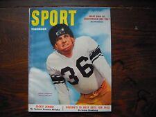 1952 Sport Magazine December Olszewski Football Packers Luckman J.Robinson VGEX
