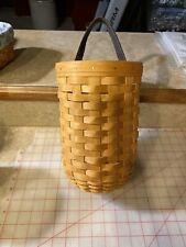 Longaberger Large Gatehouse basket with protector