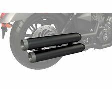 Victory Octane Stage 1 Slip-On Mufflers by Victory Motorcycles Black 2880175-266